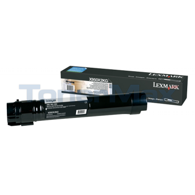 LEXMARK X950 TONER CARTRIDGE BLACK 32K